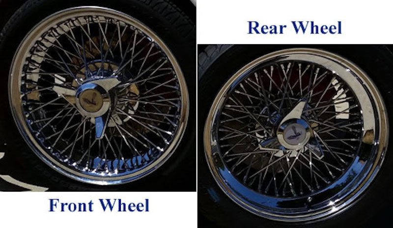 photo of Zenith spoke wheels