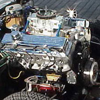 installing the 383 cid engine